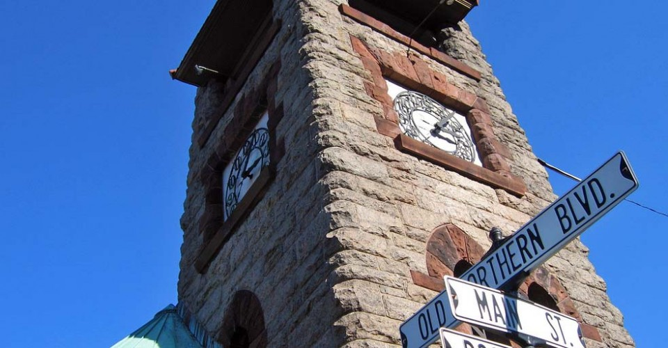 Roslyn, NY, clock tower
